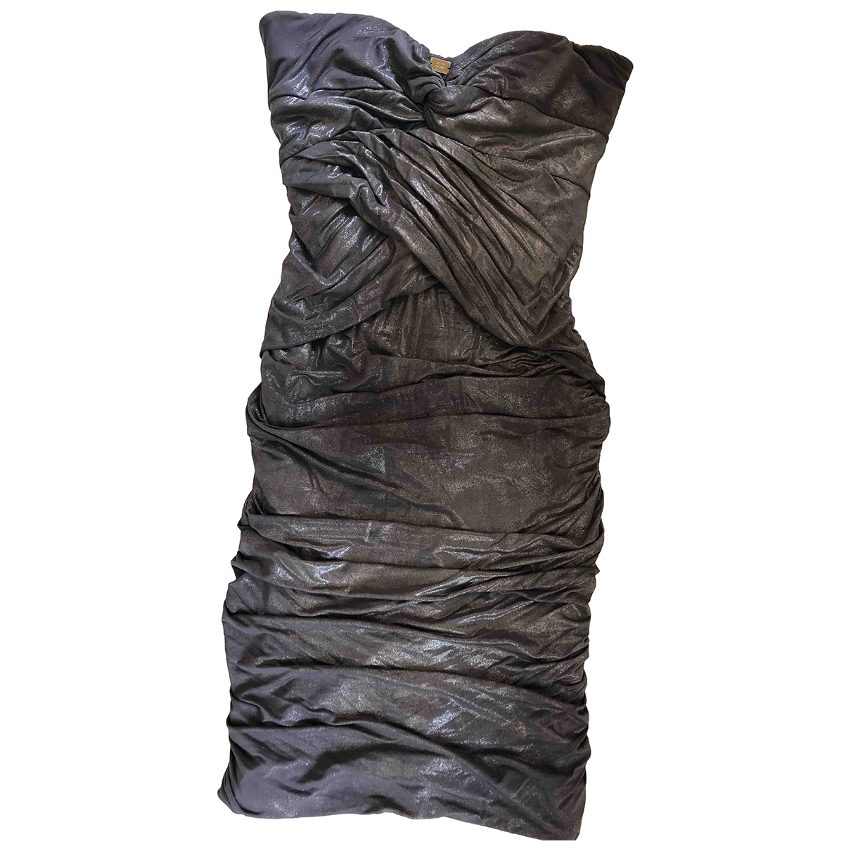Elisabetta Franchi \N Metallic dress for Women 40 IT