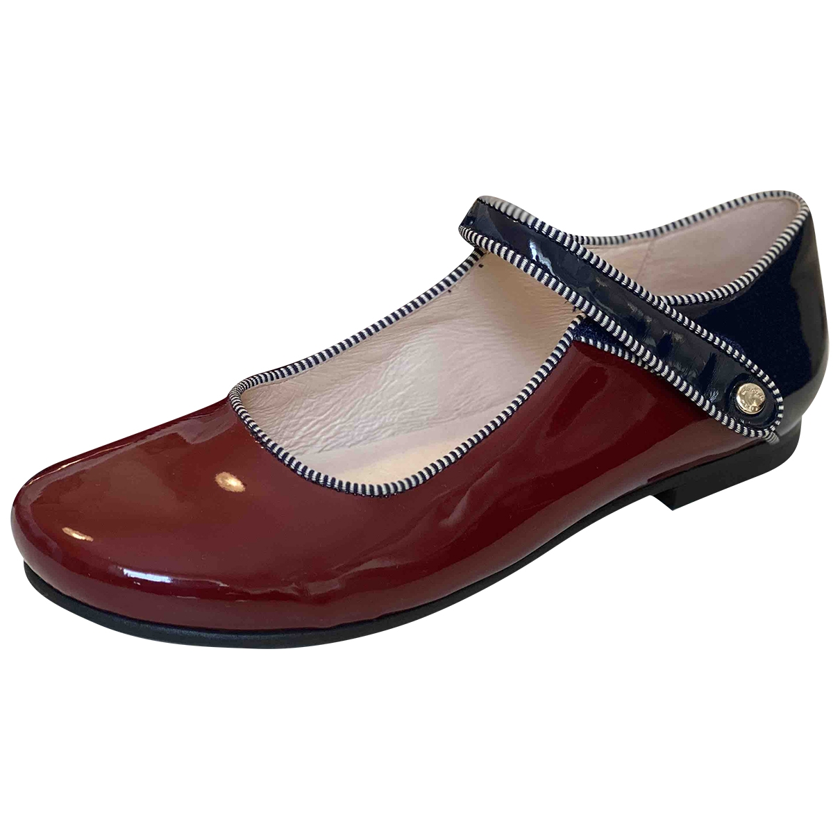 Jacadi \N Red Leather Ballet flats for Kids 35 EU
