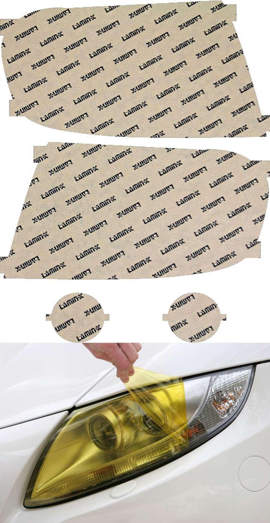 Honda Pilot 09-11 Yellow Headlight Covers Lamin-X H029Y