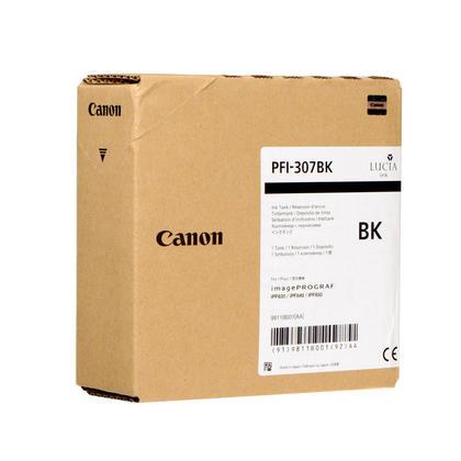 Canon PFI-307BK 9811B001 cartouche d'encre originale noire