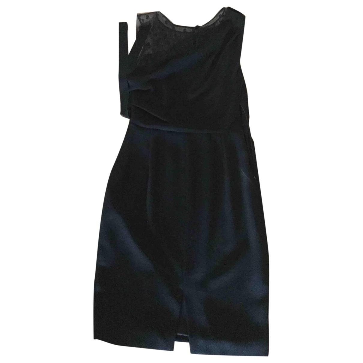 Max Mara \N Black Silk dress for Women 42 IT