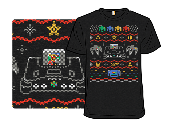 Ugly Gaming Sweater 64 T Shirt