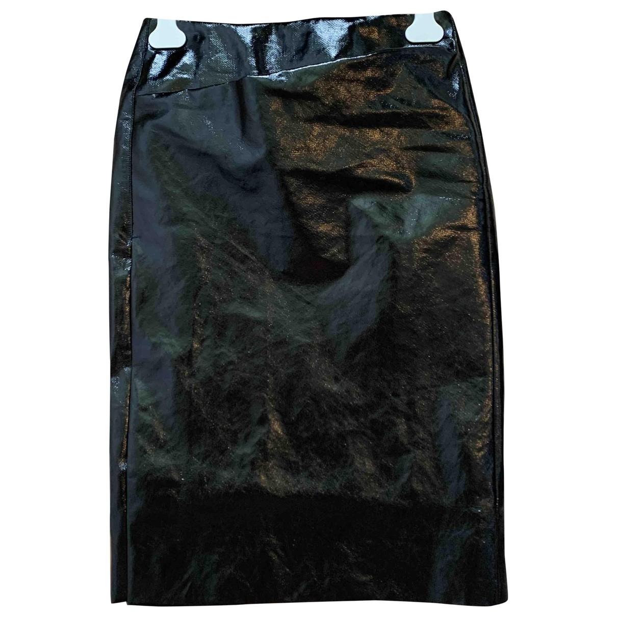 Lemaire \N Khaki Linen skirt for Women 34 FR