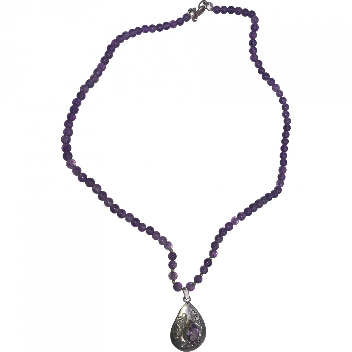 Non Signé / Unsigned Améthyste Purple necklace for Women \N