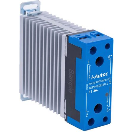 i-Autoc KSV Series , 24V dc Solid State Relay, DIN Rail or Panel