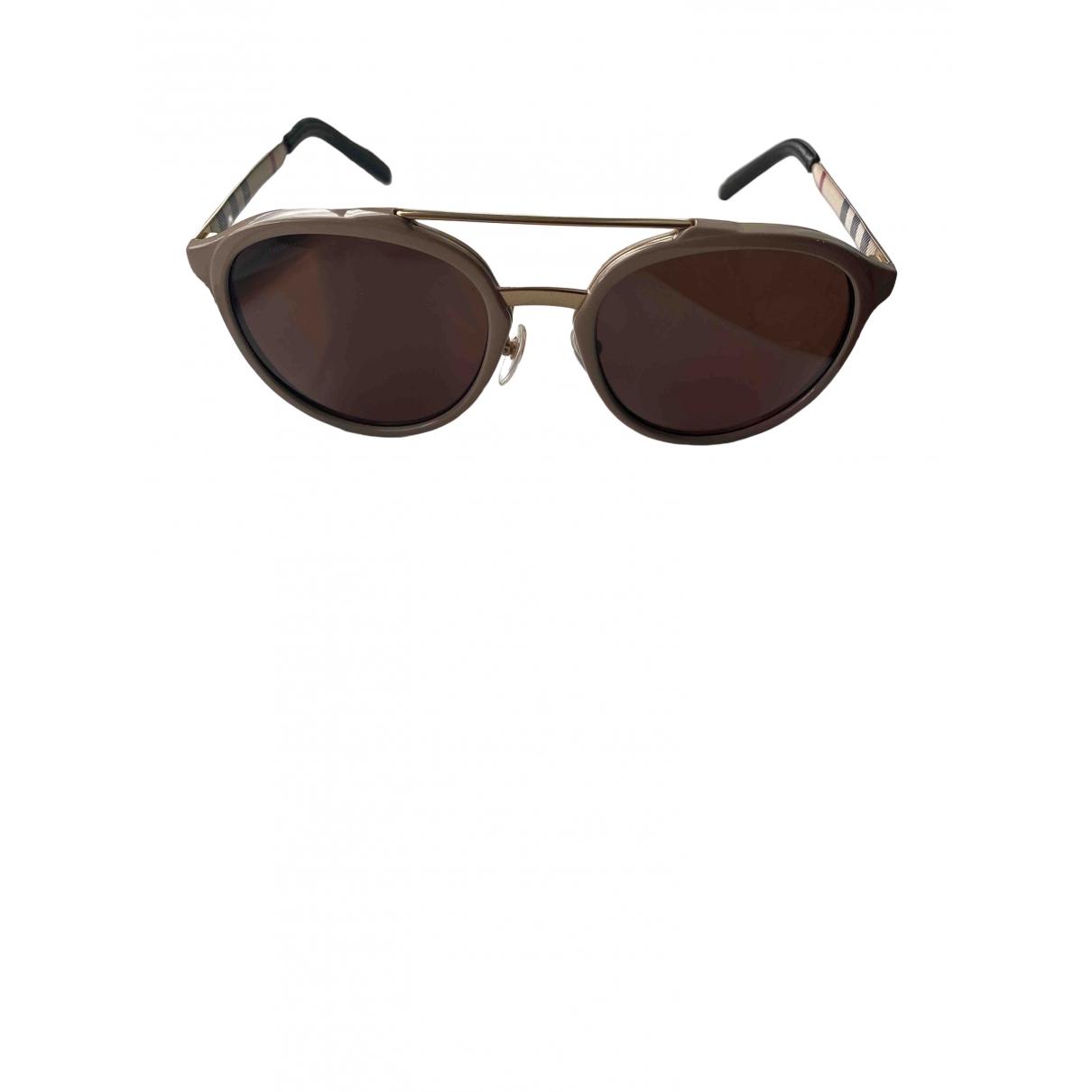Burberry \N Beige Sunglasses for Women \N