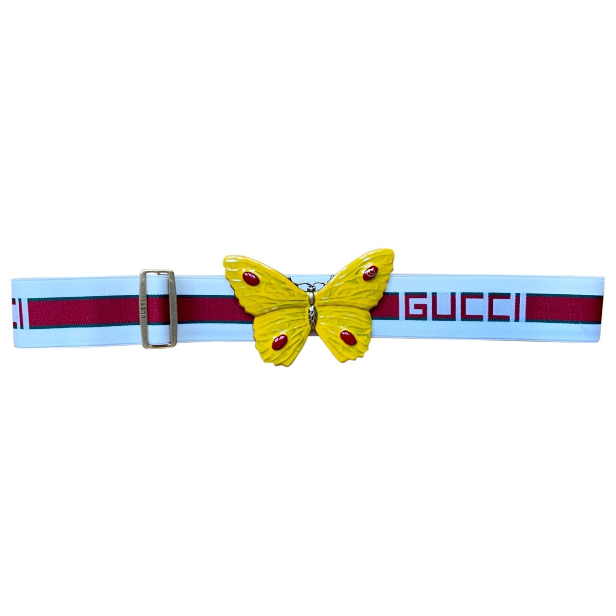 Gucci \N White Cloth belt for Women M International