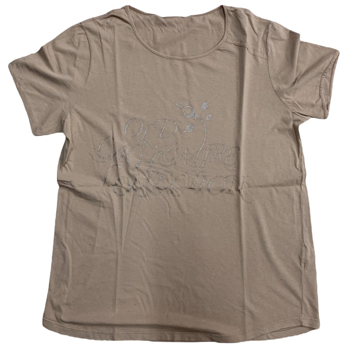 Golden Goose \N Beige Cotton T-shirts for Men L International