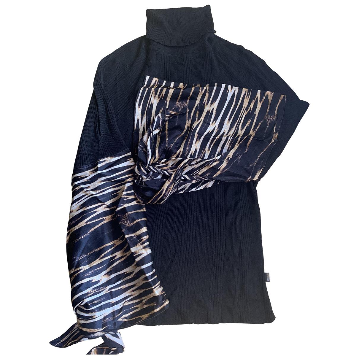 Just Cavalli \N Black Wool Knitwear for Women 40 IT