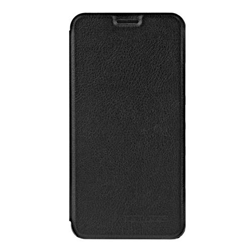 Black Ulefone Power 2 Leather Case Ultra-thin Shockproof Flip Cover Protective Phone Case Standing Phone Holder