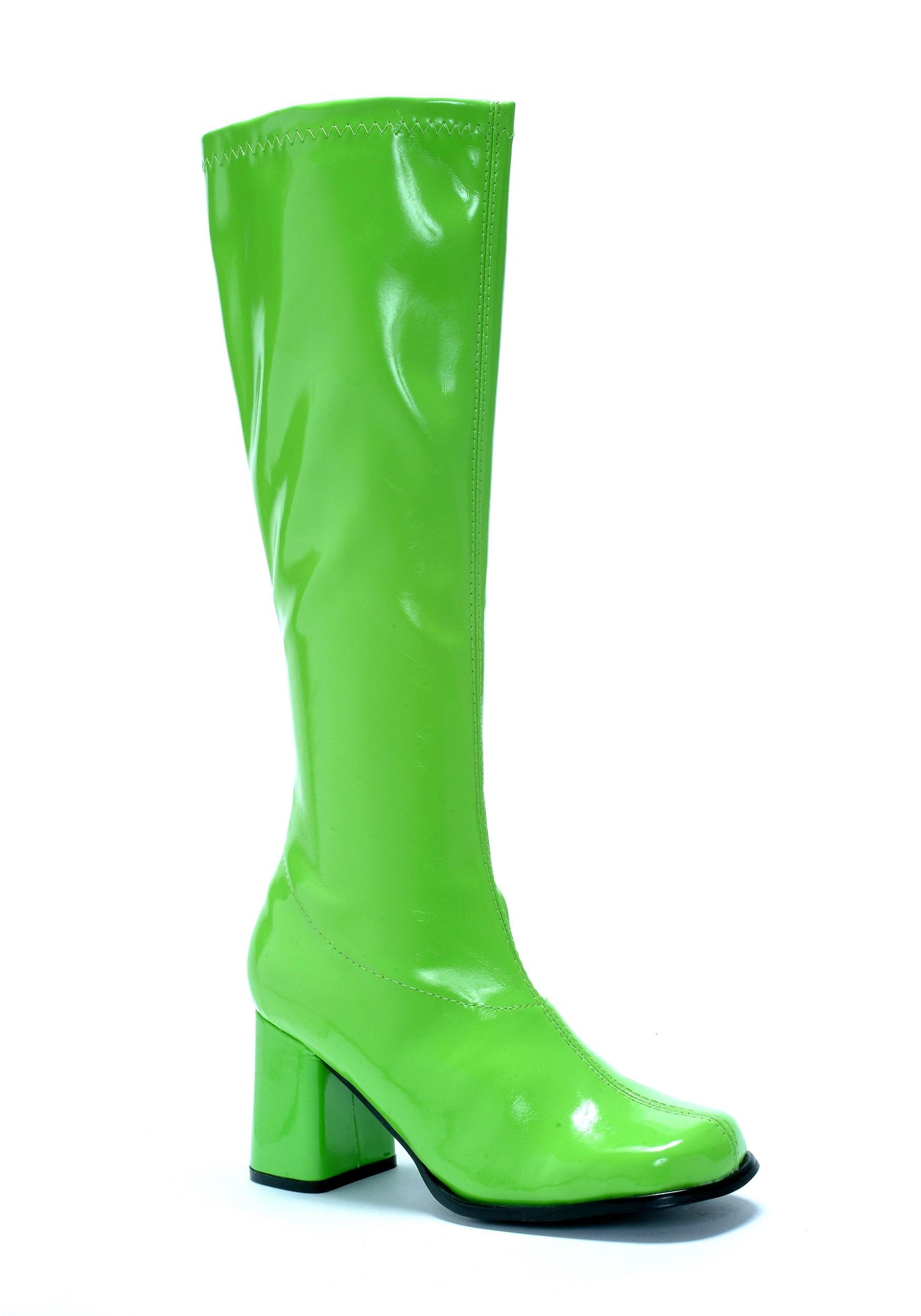 Green Women's Gogo Boots