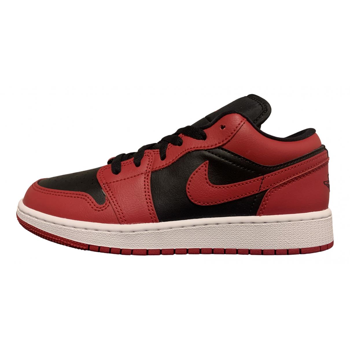 Jordan Air Jordan 1  Red Leather Trainers for Women 38.5 EU