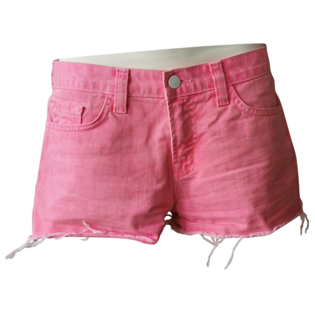 J Brand N Pink Cotton Shorts for Women S International