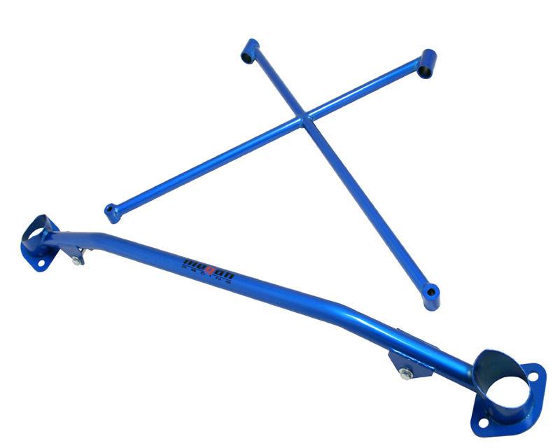 Megan Racing XBAR-S2K-B Race-Spec Strut Tower Bars (Blue) Honda S2000 2000-2009