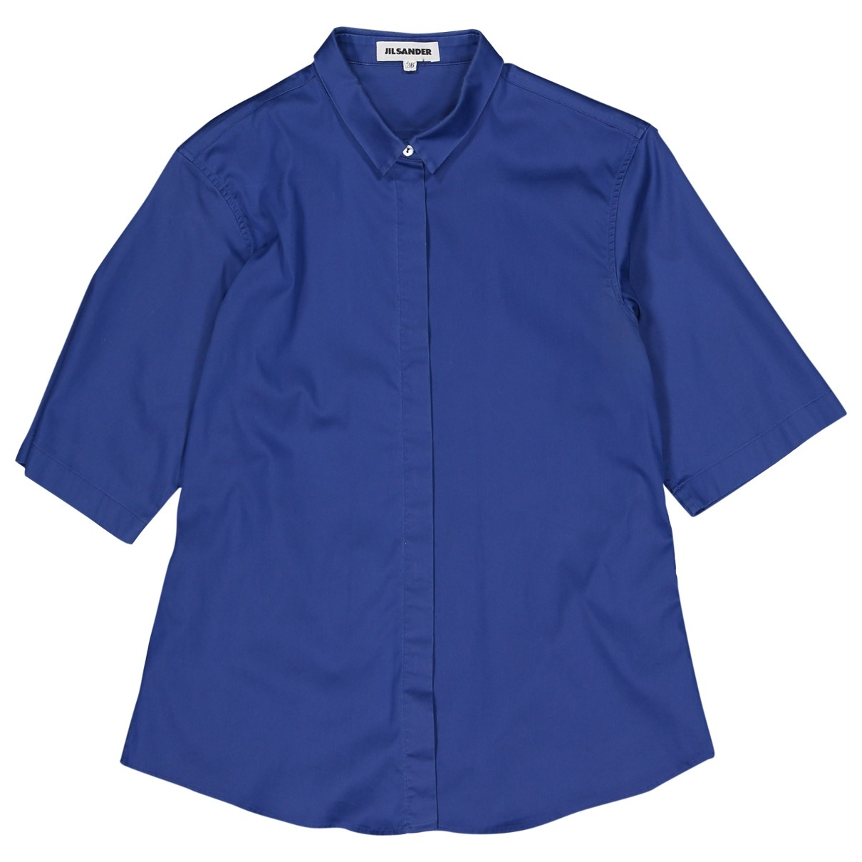 Jil Sander \N Blue Cotton  top for Women 36 FR