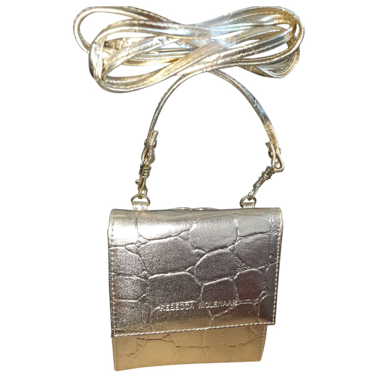 Non Signé / Unsigned \N Gold handbag for Women \N
