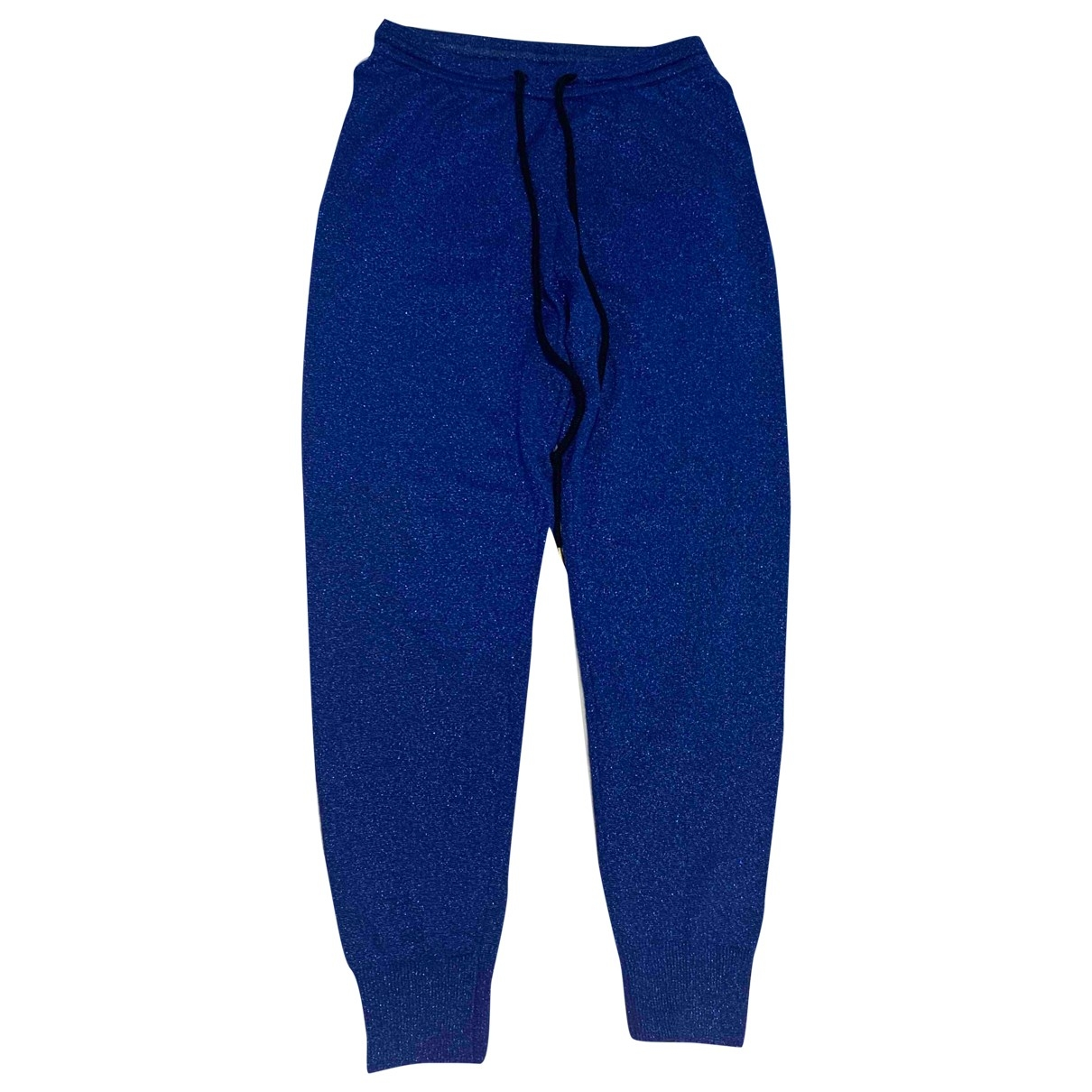 Markus Lupfer \N Blue Wool Trousers for Women XS International