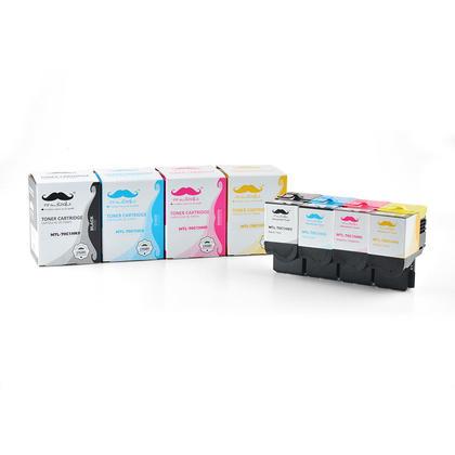 Lexmark 70C1H cartouche de toner compatible combo haute capacité BK/C/M/Y - Moustache®