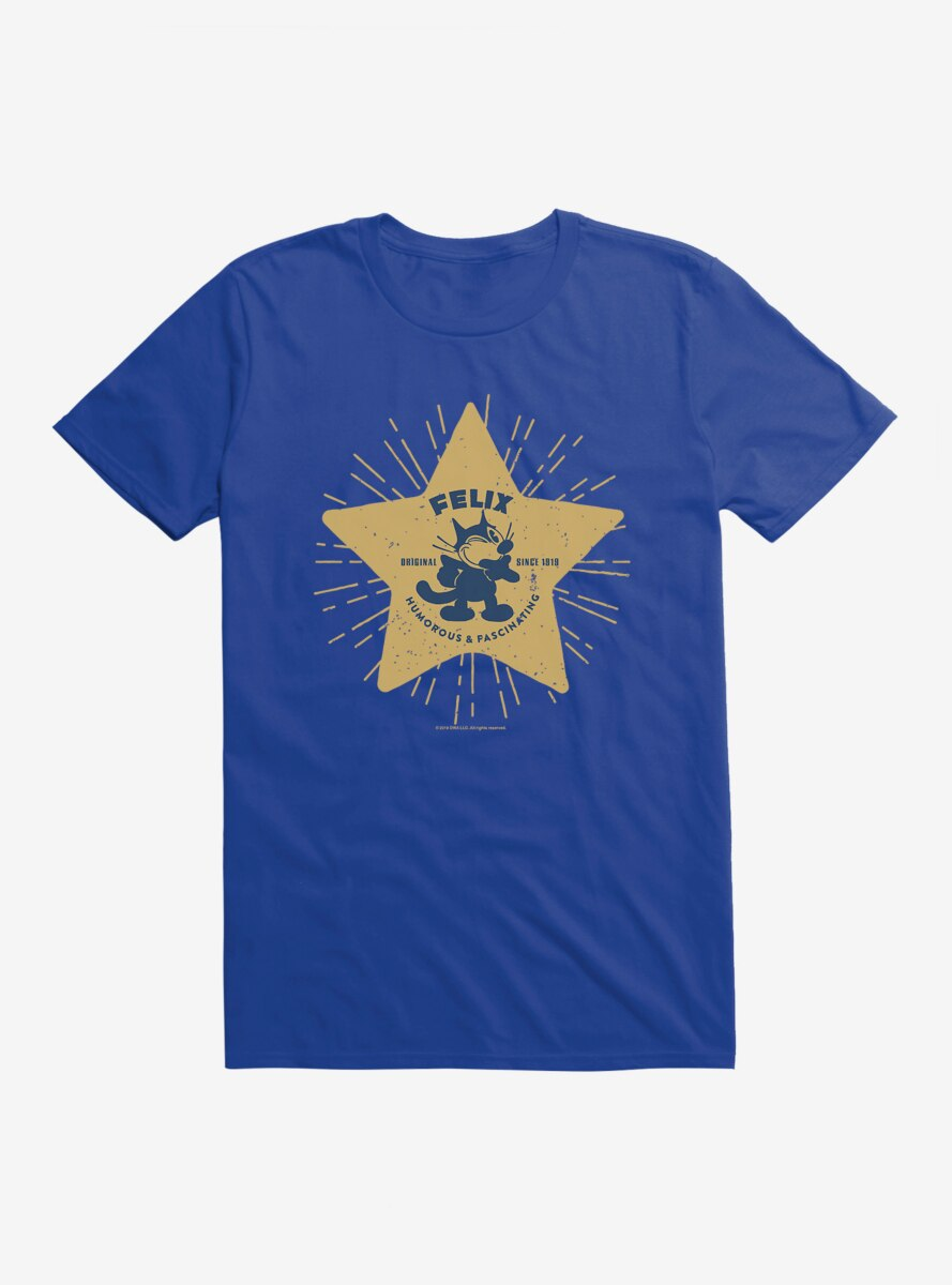 Felix The Cat Star Logo T-Shirt