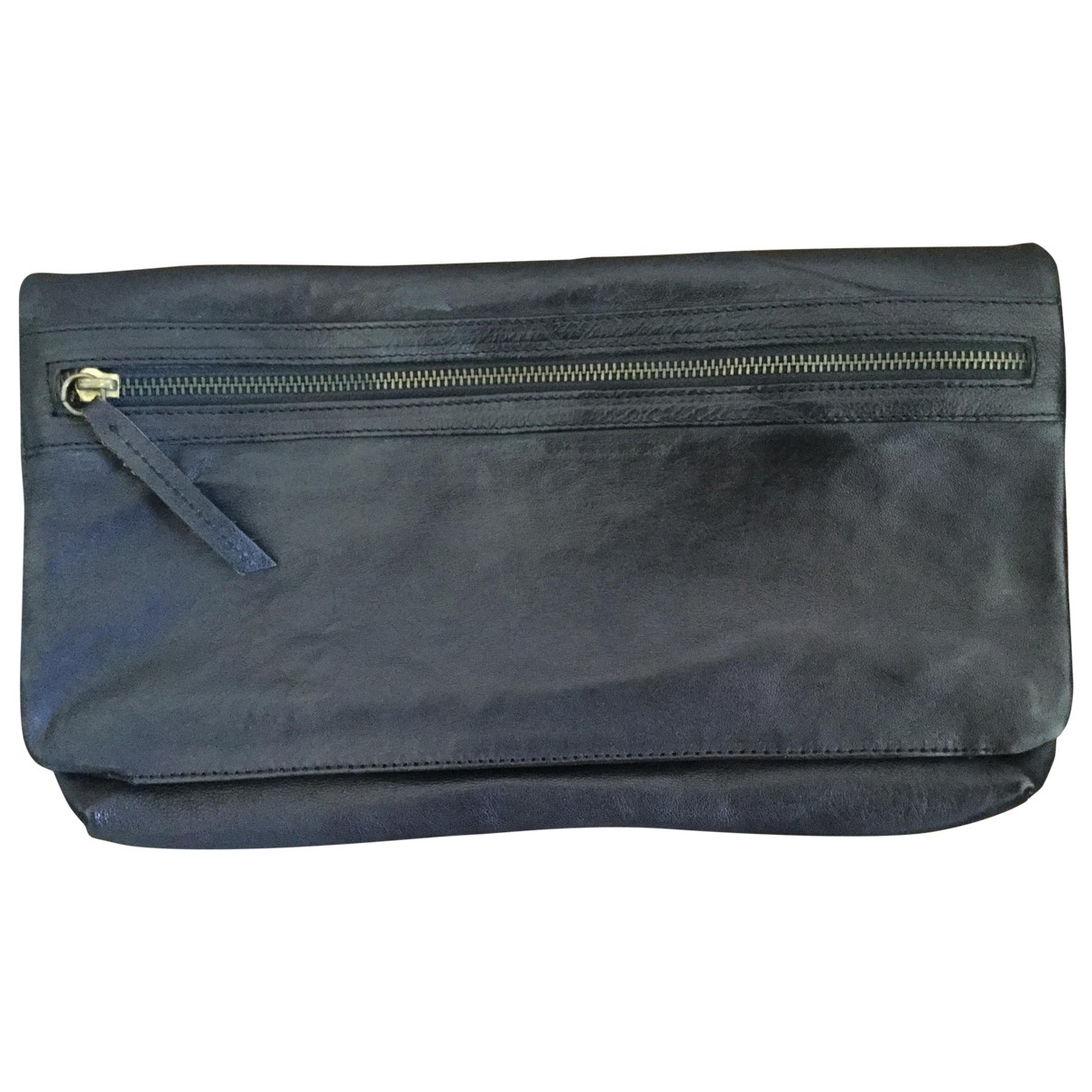 Cos \N Black Leather Clutch bag for Women \N
