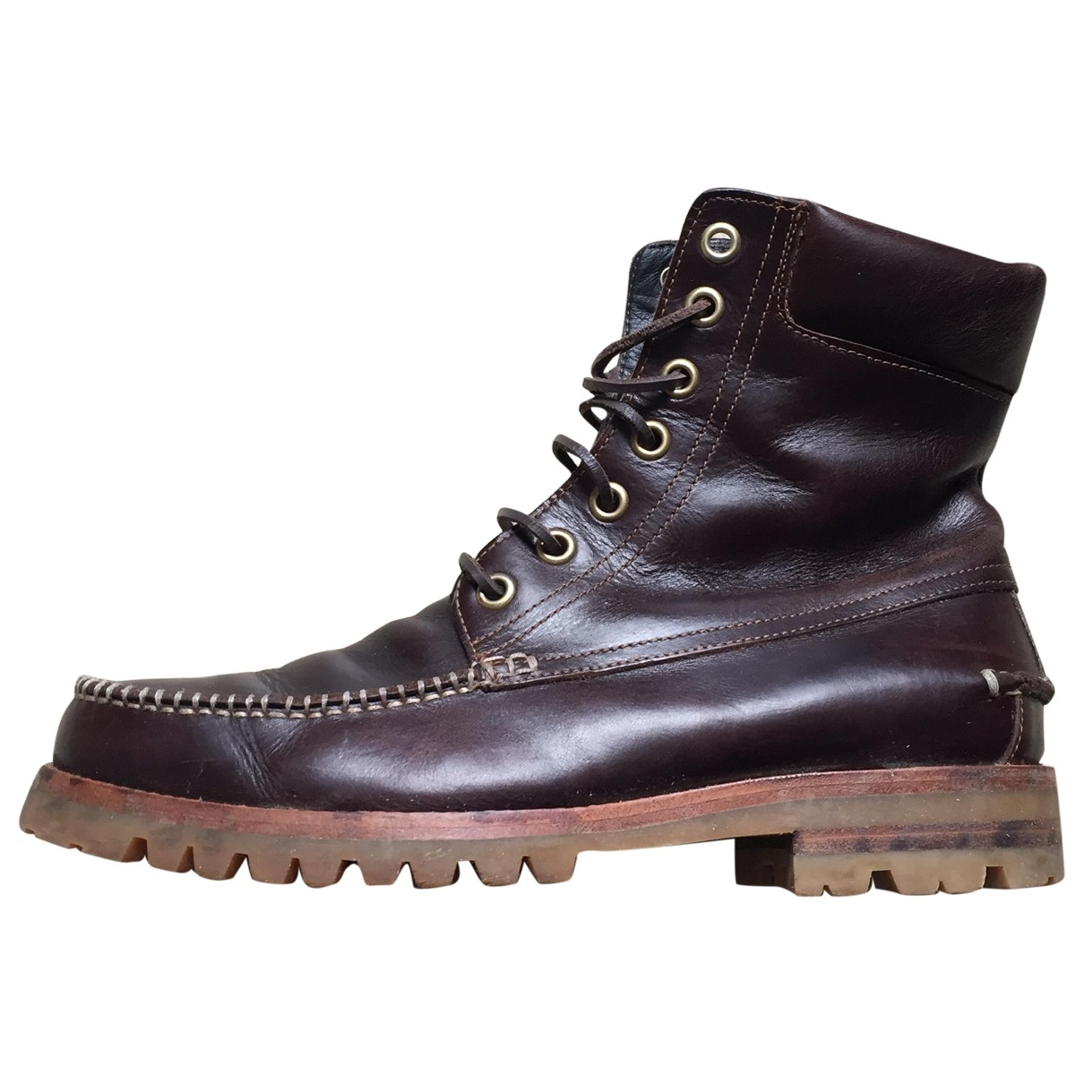 Dsquared2 \N Brown Leather Boots for Men 40 EU