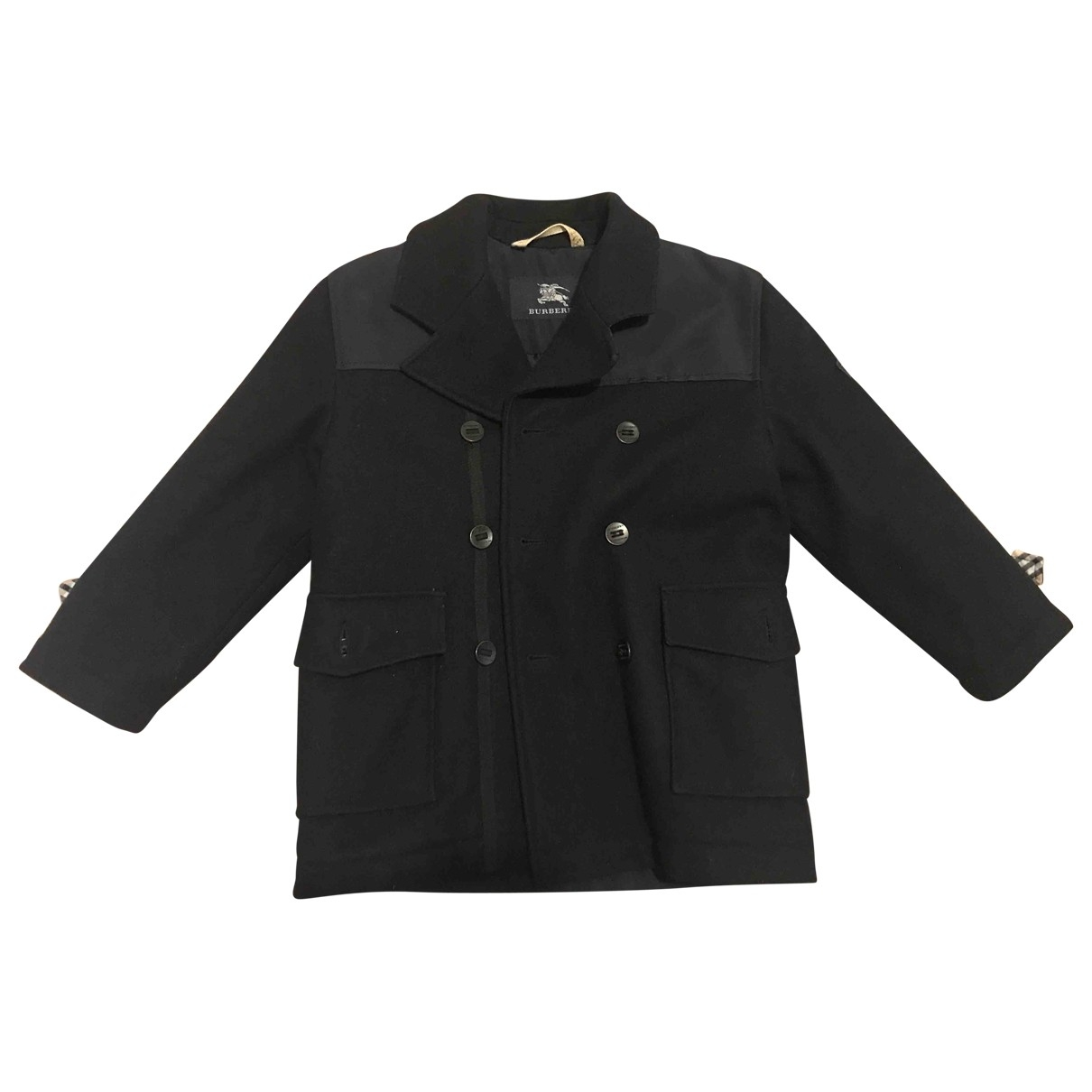 Burberry \N Navy Wool jacket & coat for Kids 5 years - up to 108cm FR