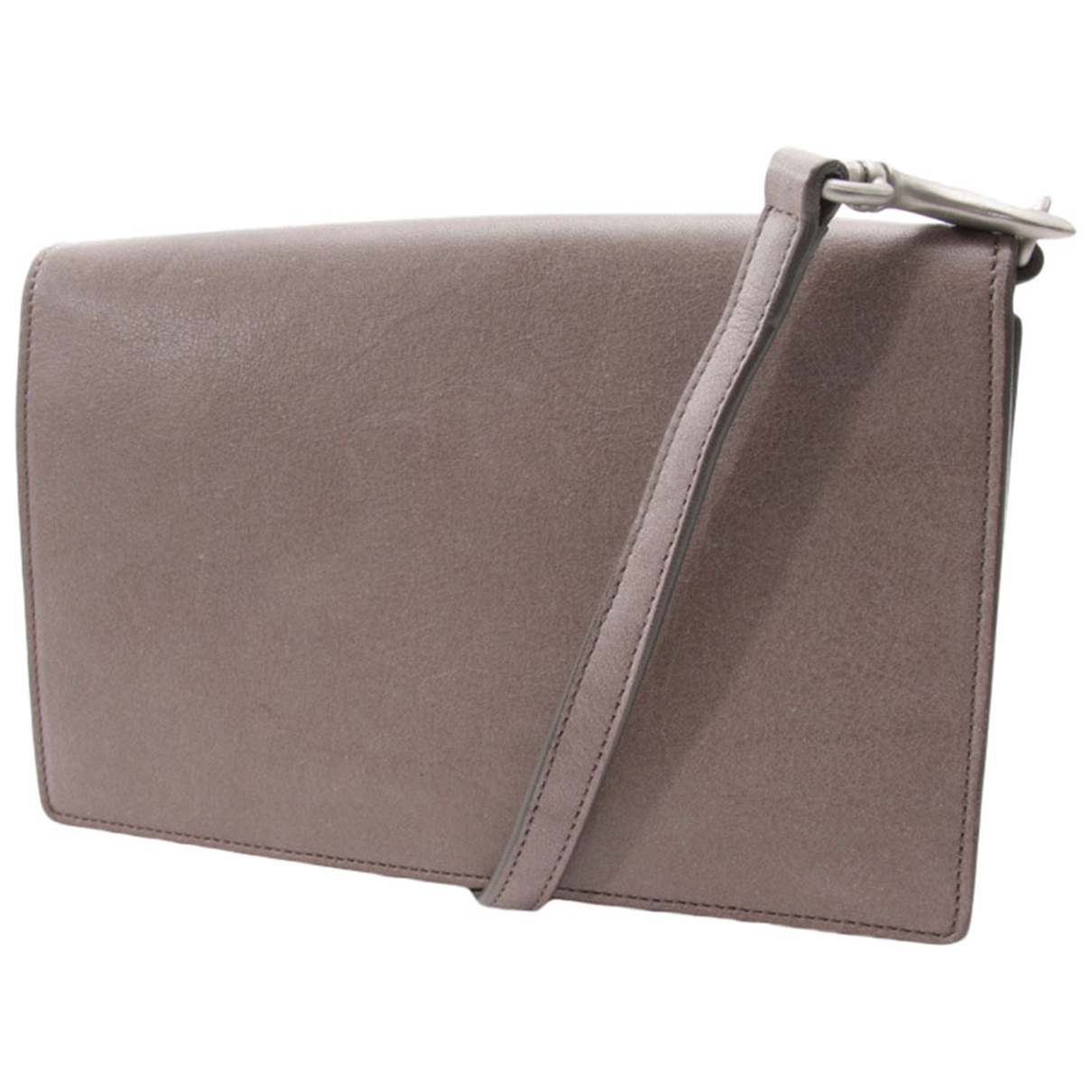 Rick Owens \N Brown Leather Clutch bag for Women \N