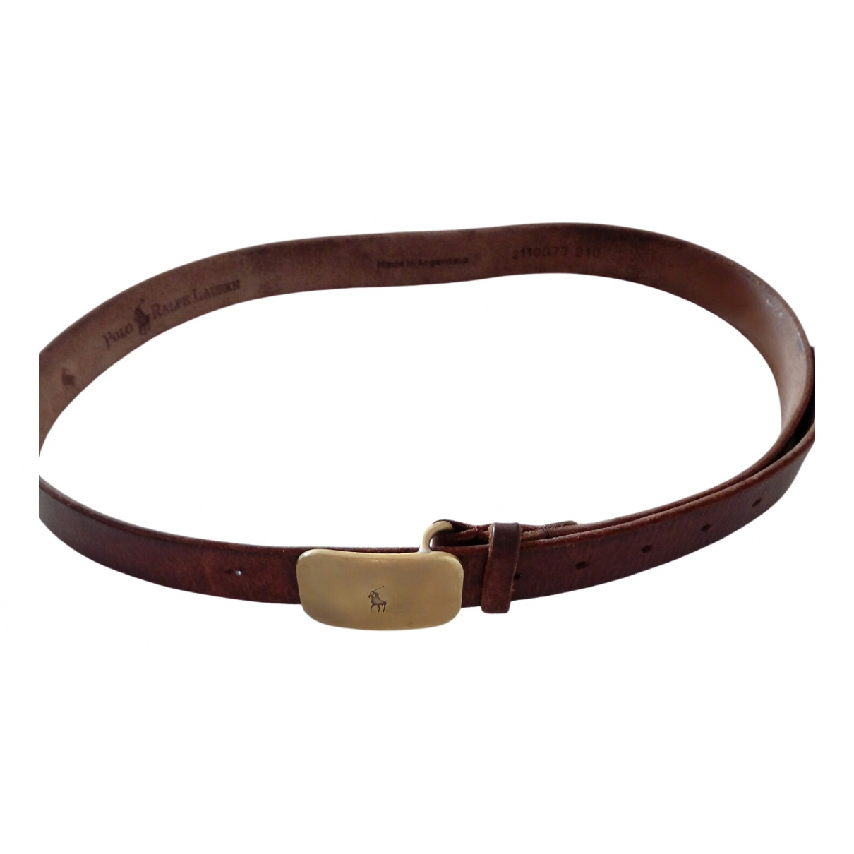 Polo Ralph Lauren \N Brown Leather belt for Men M international