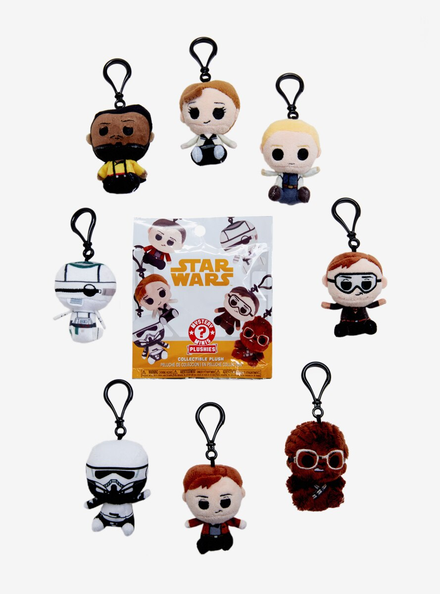 Solo: A Star Wars Story Mystery Minis Blind Bag Plush Key Chain
