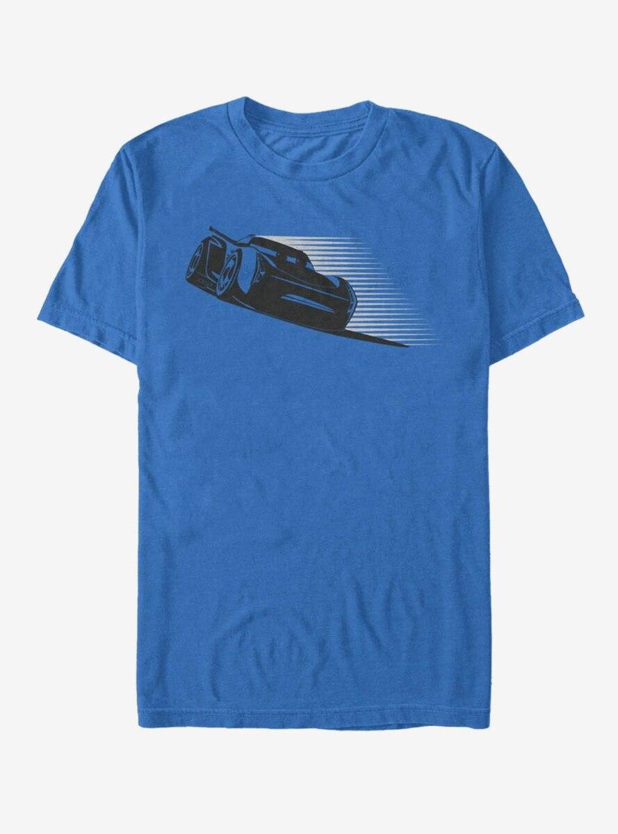 Disney Pixar Cars 3 Jackson Storm Stripes T-Shirt