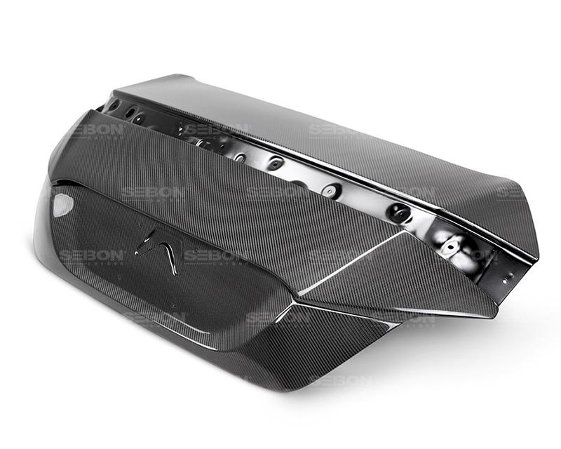 Seibon TL16HDCV2D OEM Style Carbon Fiber Trunk Honda Civic Coupe 16-17