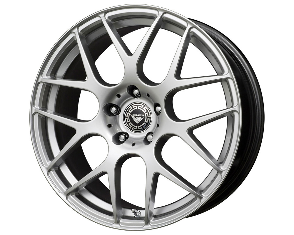 Velox Apex Hyper Silver Wheel 15x6.5 5x100/114.3 40