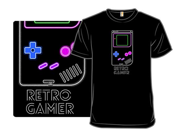 Neon Gamer T Shirt