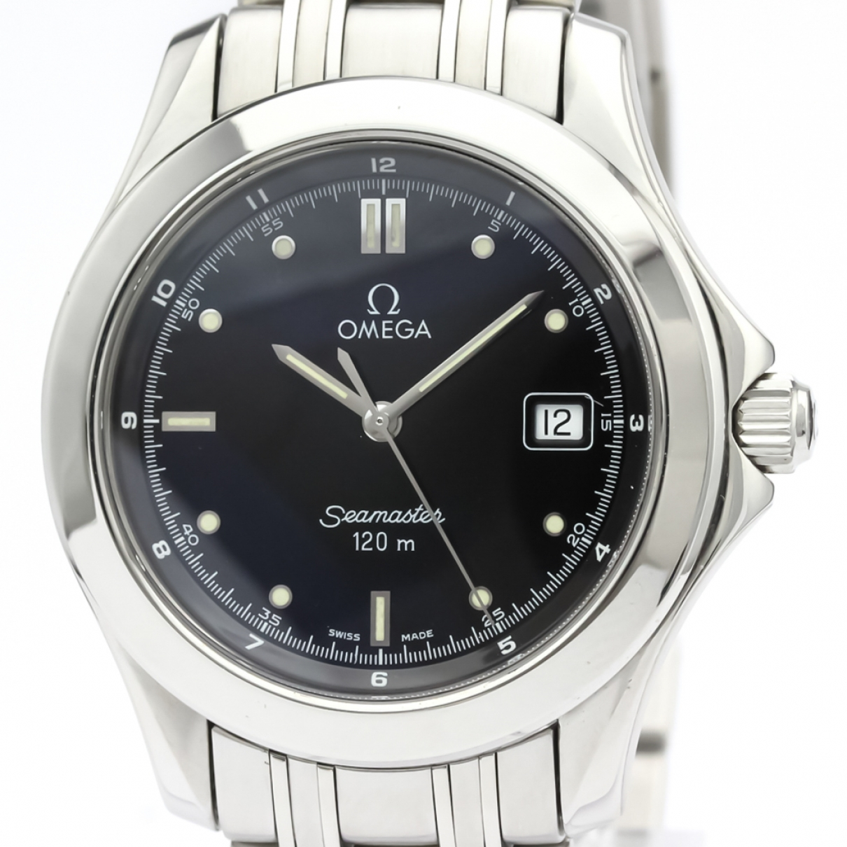 Omega Seamaster Black Steel watch for Men \N
