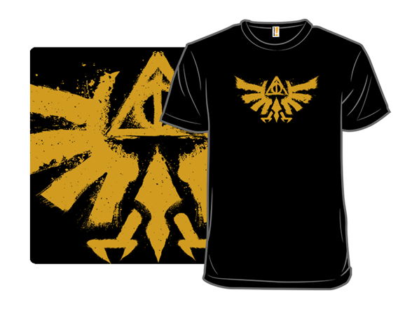 Hyrule Potter And The Deathly Triforce T Shirt