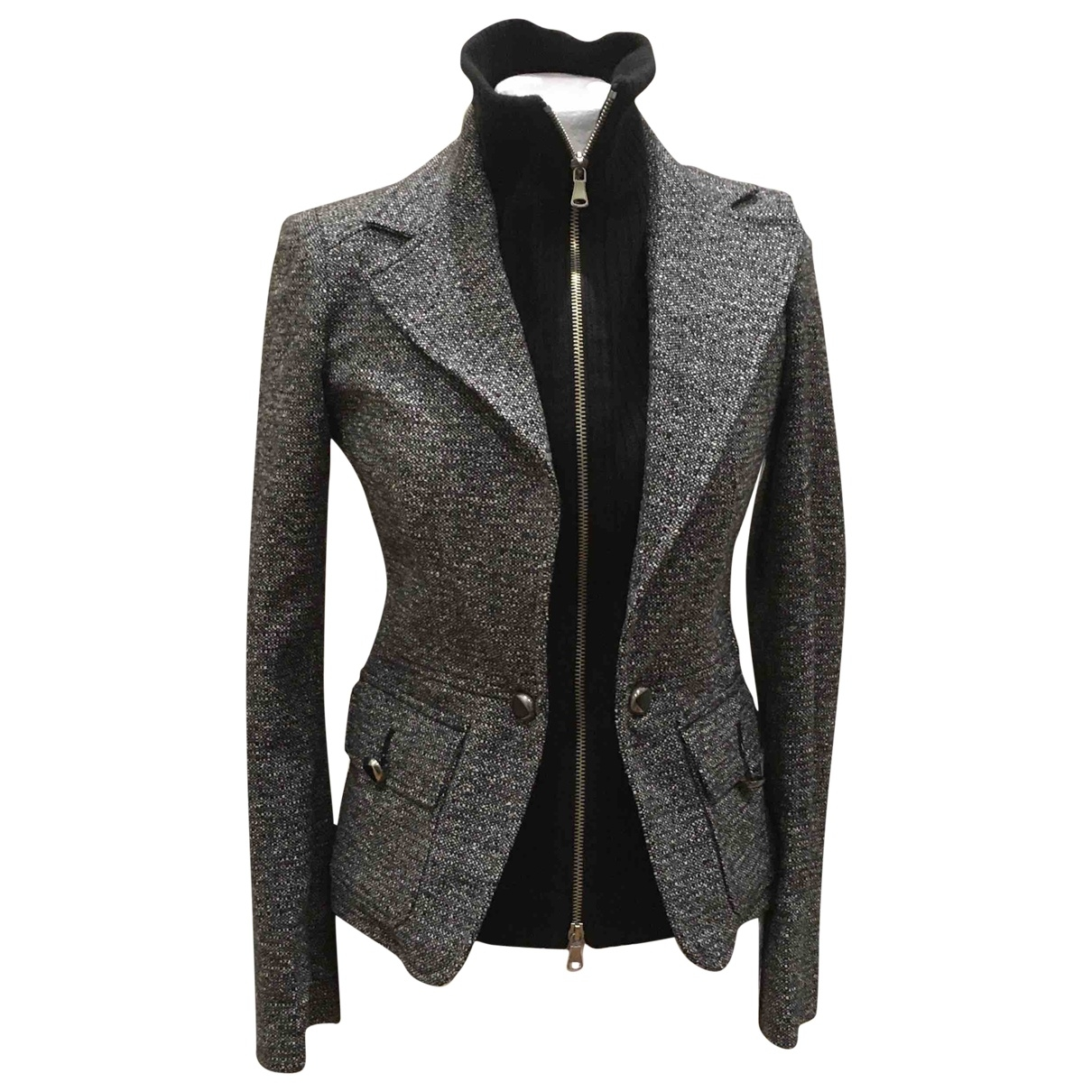 Non Signé / Unsigned \N Wool jacket for Women 40 IT