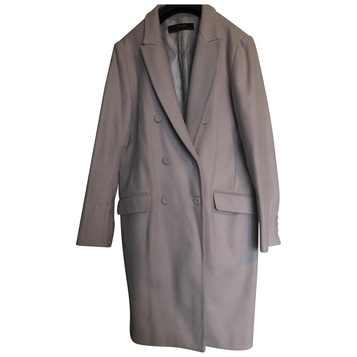 Zara \N Pink Wool coat for Women L International