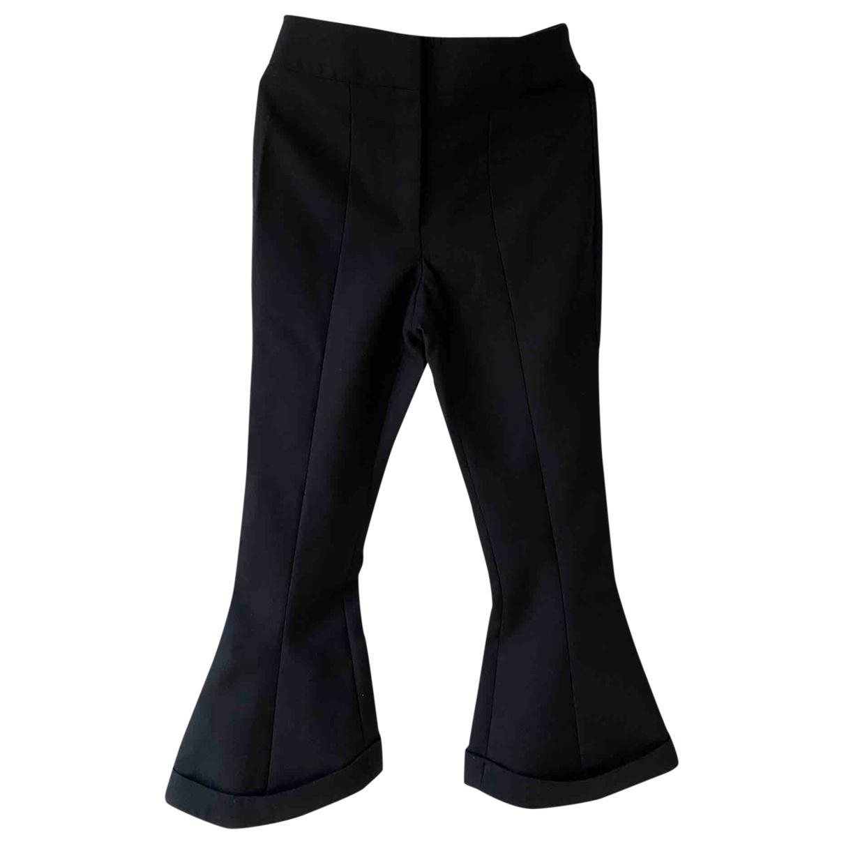 Jacquemus L'Amour d'un Gitan Black Wool Trousers for Women 38 FR