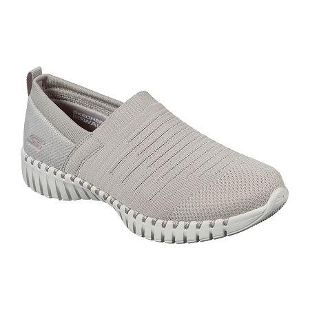 Skechers Go Walk Smart Wise Womens Walking Shoes, 10 Medium, Beige