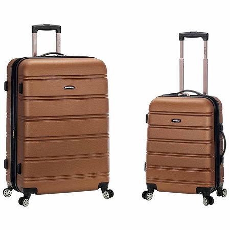 Rockland Melbourne 2-pc. Hardside Spinner Luggage Set, One Size , Brown