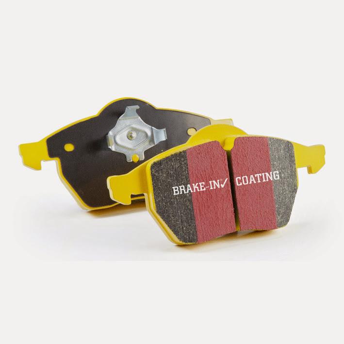 EBC Brakes DP41811R Yellowstuff Our Flagship range Front Disc Brake Pad Set FMSI D1282 Lexus Front