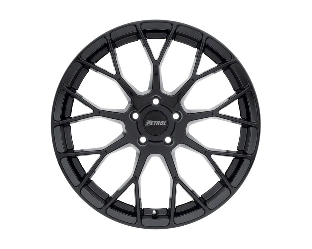 Petrol 1570P2B404114B72 P2B Wheel 15x7 4x114.3 4x4.5 40mm Gloss Black