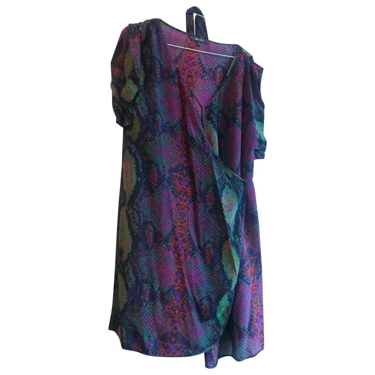 Bel Air \N Multicolour Silk dress for Women 1 0-5