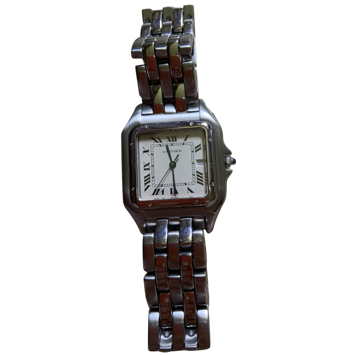 Cartier Panthère Silver Steel watch for Women \N