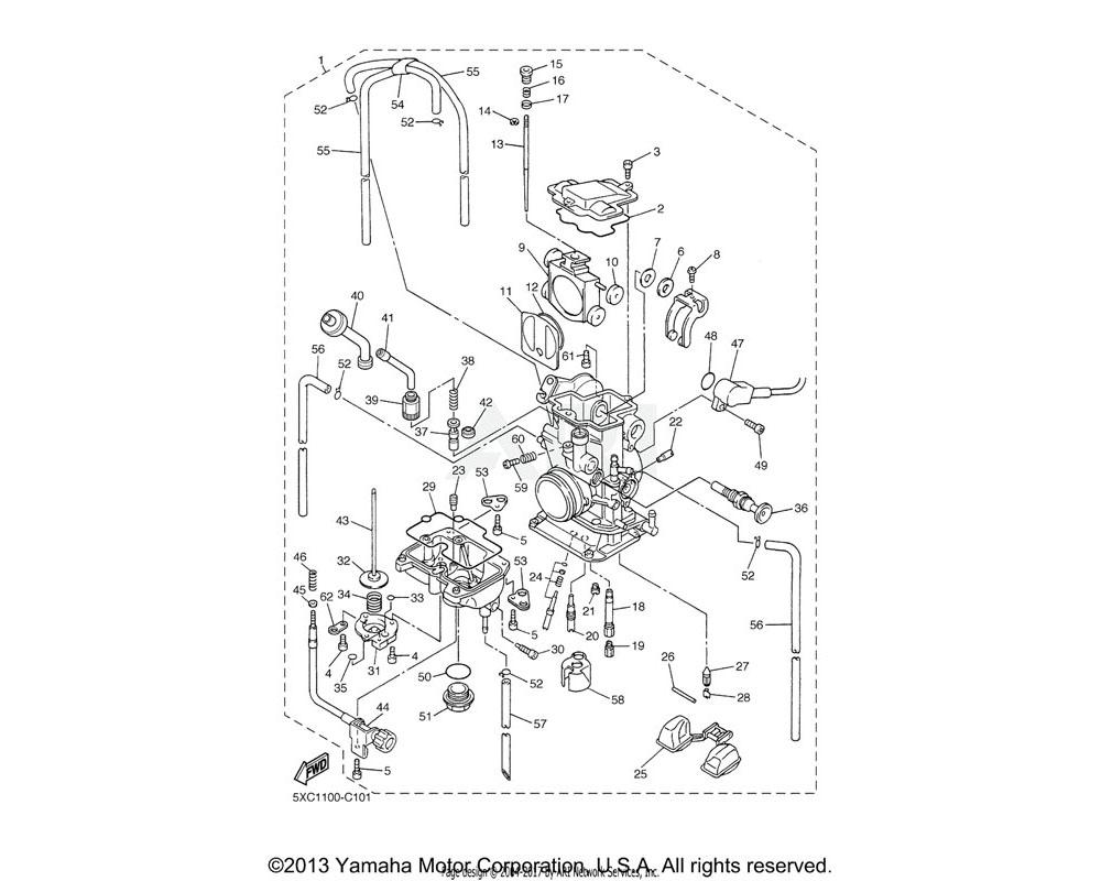 Yamaha OEM 4MX-14115-00-00 PLUG, SCREW