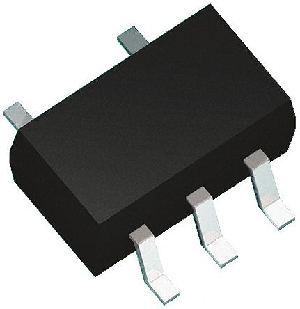 ON Semiconductor NL17SZ125XV5T2G Non-Inverting CMOS Buffer, 5-Pin SOT-553 (100)