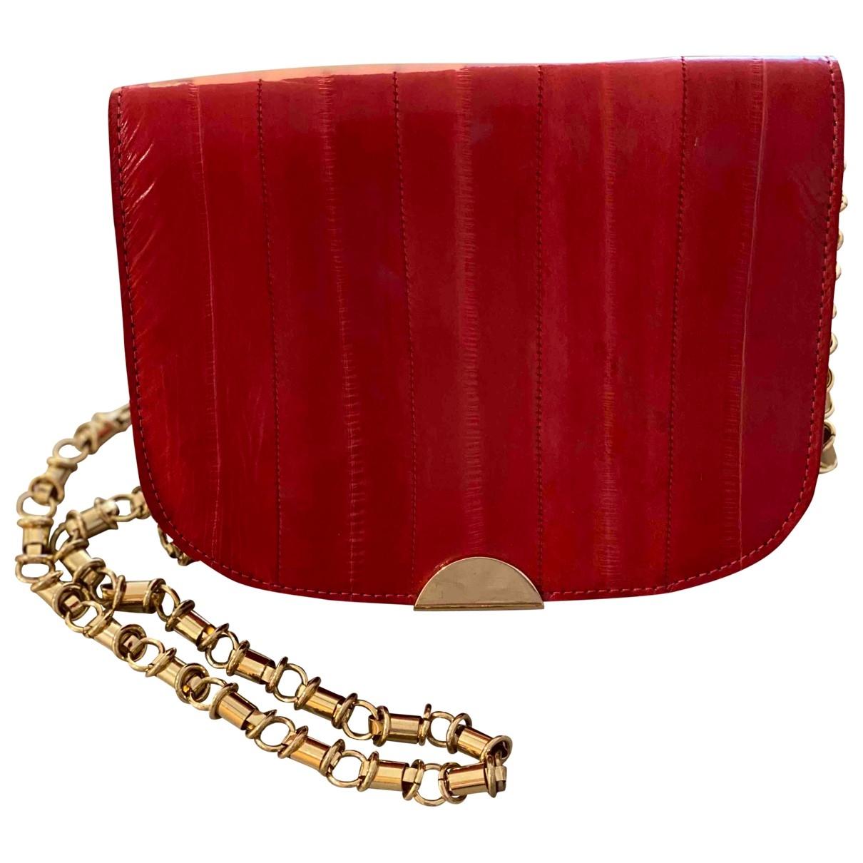 Hoss Intropia \N Red Fur handbag for Women \N