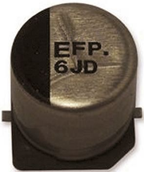 Panasonic 330μF Electrolytic Capacitor 16V dc, Surface Mount - EEEFP1C331AP (5)