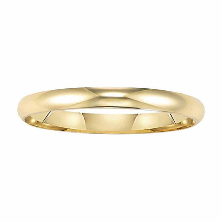 2MM 14K Gold Wedding Band, 13 1/2 , No Color Family