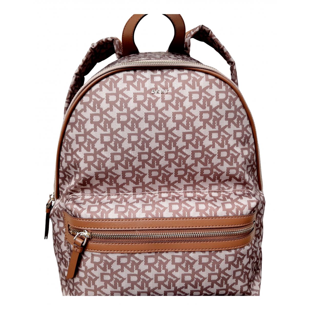 Dkny \N Brown Cloth backpack for Women \N